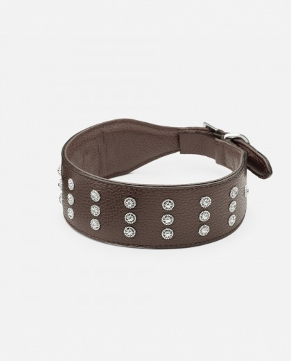 Collar Blat- 50  Hanna Chocolate