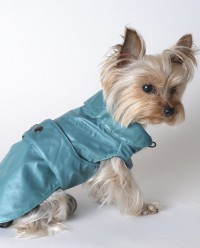 Impermeable para perro Willie verde